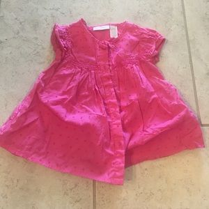12 month pink blouse